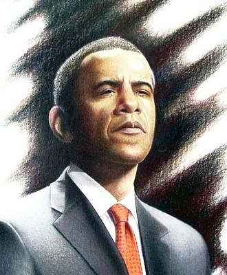 President Obama Poster by Joey Smith
