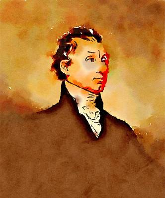 President Of The United States Of America James Monroe Poster by John Springfield