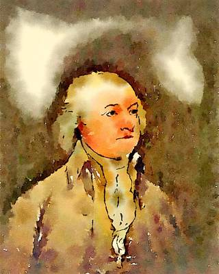 President Of The United States Of America John Adams Poster by John Springfield