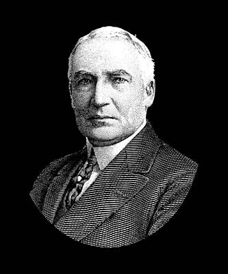 President Warren G. Harding Poster by War Is Hell Store