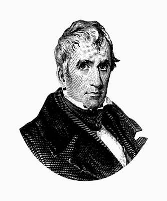 President William Henry Harrison Graphic Poster