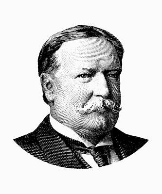 President William Howard Taft Graphic Poster by War Is Hell Store