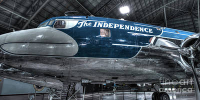 Presidential Aircraft - The Independence, Douglas Vc-118  Poster