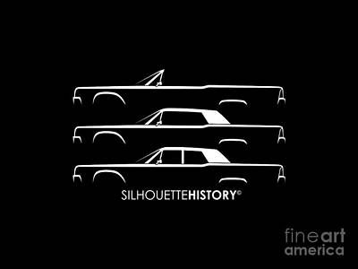 Presidential Limousine Silhouettehistory Poster