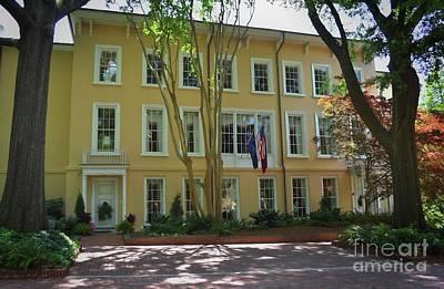 President's Residence University Of South Carolina Poster by Skip Willits