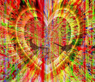 Pretentious Heart Poster