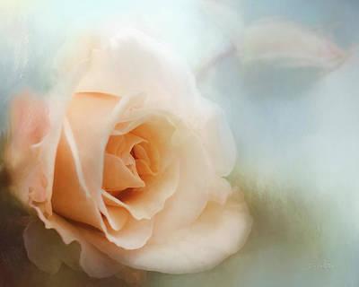 Pretty As A Peach Poster by Jordan Blackstone