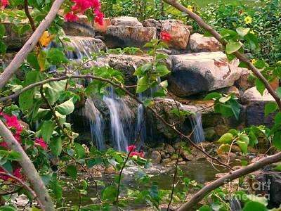 Pretty Garden View Poster by Yali Shi