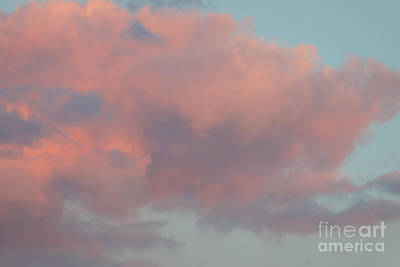 Poster featuring the photograph Pretty Pink Clouds by Ana V Ramirez
