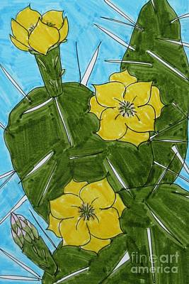Prickly Pear Poster