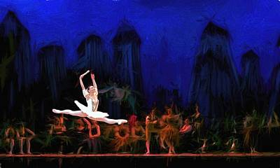 Prima Ballerina Poster by Louis Ferreira
