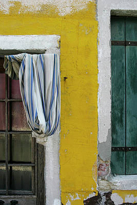 Primary Colours Of Burano Poster