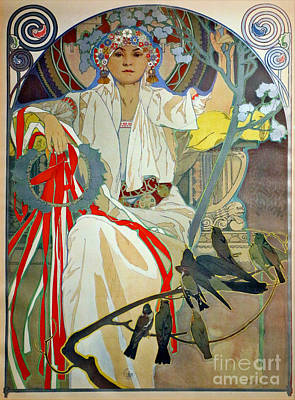 Poster featuring the photograph Primavera 1914 by Padre Art