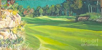 Primland Golf Course #1 Poster by Frank Giordano