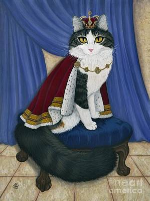 Prince Anakin The Two Legged Cat - Regal Royal Cat Poster