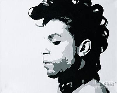 Poster featuring the painting Prince by Ashley Price