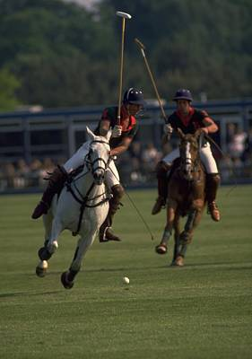 Prince Charles Playing Polo Poster