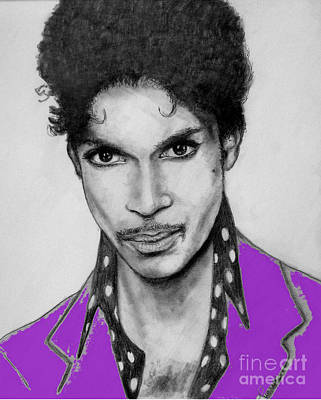 Prince In Purple Poster