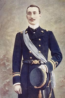 Prince Luigi Amedeo Of Savoy-aosta Poster by Vintage Design Pics