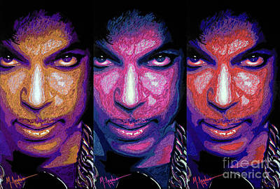 Prince Poster by Maria Arango