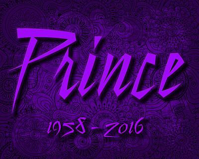 Prince Memorial Poster