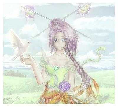 Princess Altiana Colour Poster
