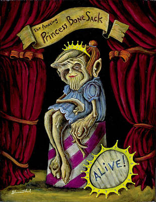 Princess Bone Sack Poster