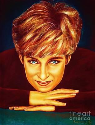 Princess Diana  Poster by Anastasis  Anastasi