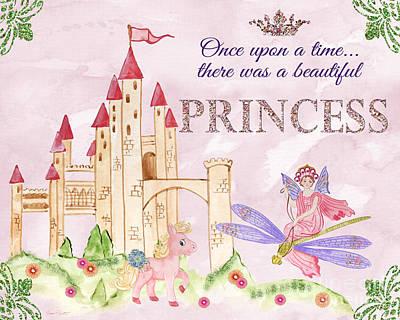 Princess-jp3584 Poster by Jean Plout