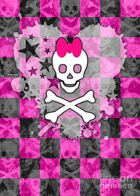 Princess Skull Poster