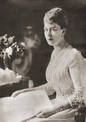 Princess Victoria Mary, Aka Princess Poster by Vintage Design Pics