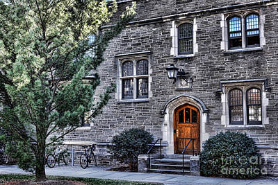 Princeton University Little Hall Poster by Olivier Le Queinec