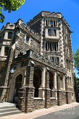 Princeton University Patton Hall Poster