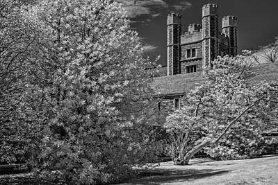 Poster featuring the photograph Princeton University Buyers Hall by Susan Candelario