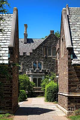 Princeton University Wright Hall Poster