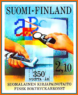 Printing In Finland Poster by Lanjee Chee