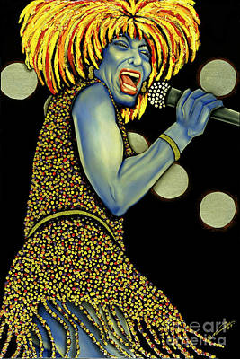 private Dancer Poster by Nannette Harris