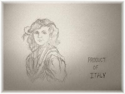 Product Of Italy Poster by Nancy  Caccioppo
