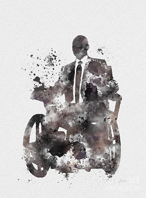 Professor X Poster by Rebecca Jenkins