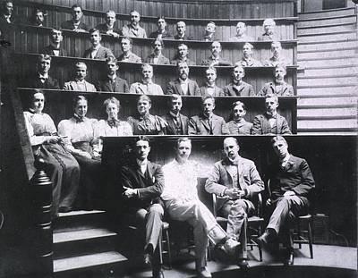 Professors Harvey Cushing, Howard Poster by Everett