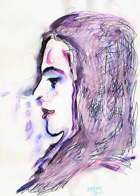 Profile, 1 Aprel 2015 Poster by Tatiana Chernyavskaya