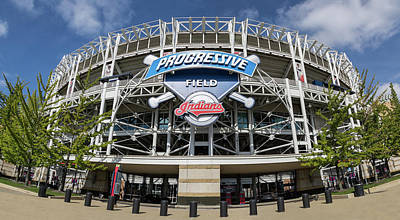 Poster featuring the photograph Progressive Field by Dale Kincaid