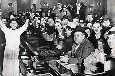 Prohibition Ends Celebration Dec 5, 1933 Poster by Daniel Hagerman