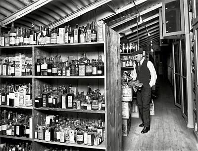 Prohibition Treasury Dept Lab 1920s Poster by Daniel Hagerman
