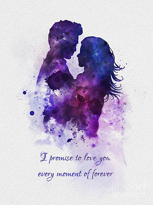 Promise Poster by Rebecca Jenkins