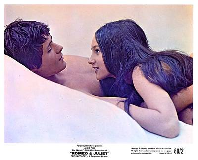 Promotional Photo For Romeo And Juliet 1968. Poster by The Titanic Project