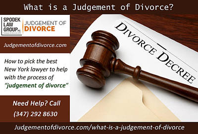 Proposed Final Judgement Of Divorce Poster by Henry Williams