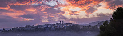 Provence Village 3 Poster by Simon Kayne