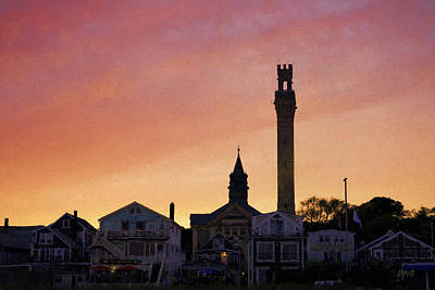Provincetown Sunset Poster