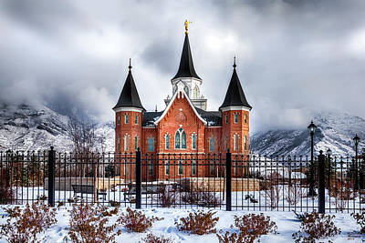 Provo City Center Temple Lds Large Canvas Art, Canvas Print, Large Art, Large Wall Decor, Home Decor Poster by David Millenheft